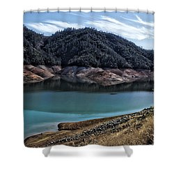 Shasta Lake Shower Curtain