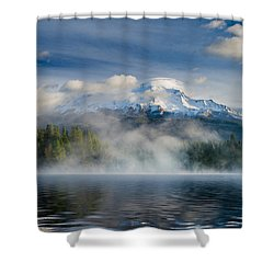 Shasta Mists And Morning 2 Shower Curtain