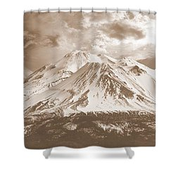 Shower Curtain featuring the photograph Shasta Mt by Athala Carole Bruckner