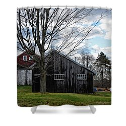 Shaw Hill Farm Shower Curtain