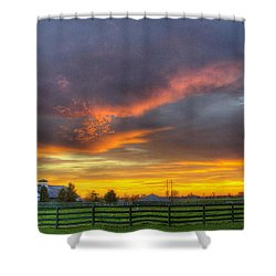 Shawanee Sunset Shower Curtain
