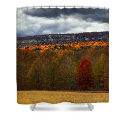 Shawangunk Mountains Hudson Valley Ny Shower Curtain