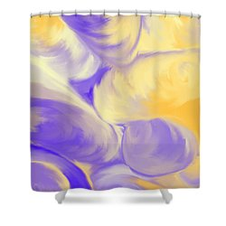 She Sells Sea Shells Shower Curtain