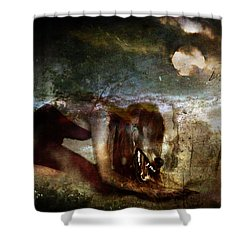 She Wolf  Shower Curtain by Perennial Dreams Studios