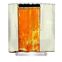 Shearing Shed Door 2 Shower Curtain