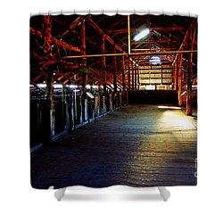 Shearing Shed From A Bygone Era Shower Curtain by Blair Stuart