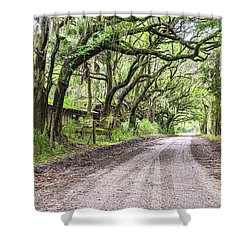Sheep Farm On Witsell Rd Shower Curtain