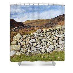 Sheep Pinfold Shower Curtain