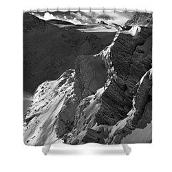 Sheer Alps Shower Curtain