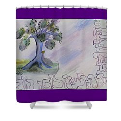 Shehecheyanu Shower Curtain