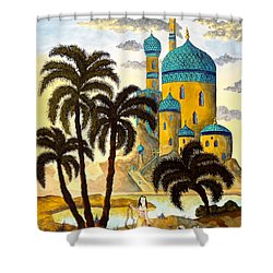 Shehriyar And Shahzeman Shower Curtain