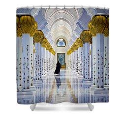 Sheikh Zayed Grand Mosque Shower Curtain