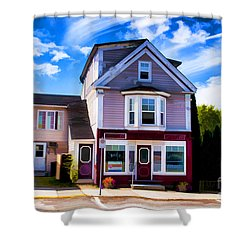 Shelbourne Bakery Shower Curtain