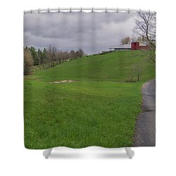 Shelburne Country Road Shower Curtain