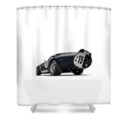 Shelby Daytona Shower Curtain by Douglas Pittman