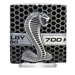 Shelby F150 Truck Emblem Shower Curtain