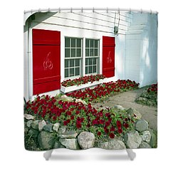 Shelby Flowers Shower Curtain