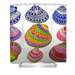 Shell Art Shower Curtain