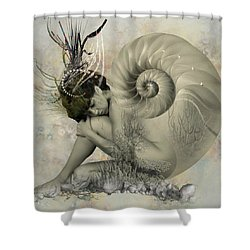 Shell Of Life  Shower Curtain