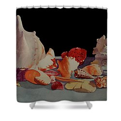 Shell Shock Shower Curtain