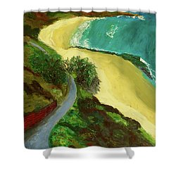 Shelly Beach Shower Curtain