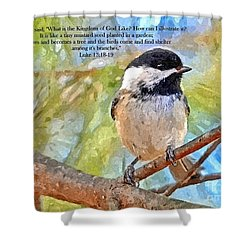 Shelter Among It's Branches Shower Curtain