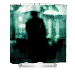 Shower Curtain featuring the digital art Shelter  by Fine Art By Andrew David