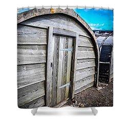 Shelter Shower Curtain