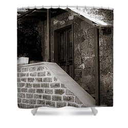 Shelter Shower Curtain by Deborah Scannell