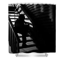 Shower Curtain featuring the photograph Shelter by Eric Christopher Jackson