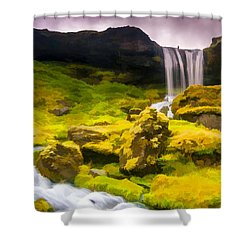 Shelve Your Responsibilities Shower Curtain
