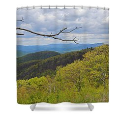 Shenandoah National Park Shower Curtain