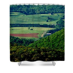 Shenandoah Valley 2 Shower Curtain