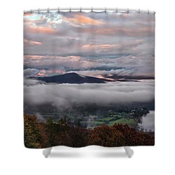 Shenandoah Valley November 2015 Skies Shower Curtain