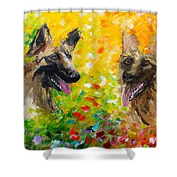 Shepards Shower Curtain
