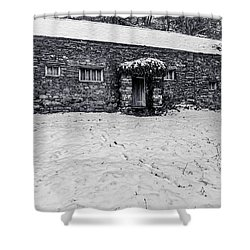 Shepherds Cottage Shower Curtain