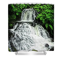 Shepperd's Dell In Rain Shower Curtain