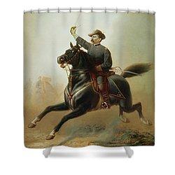 Sheridan's Ride Shower Curtain by Thomas Buchanan Read