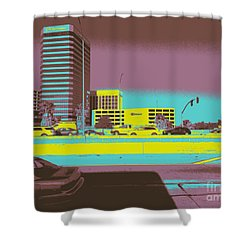 Sherman Oaks Shower Curtain