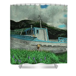 Sherry D Shower Curtain
