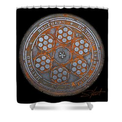 Shield 2 Shower Curtain