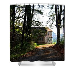 Shower Curtain featuring the photograph Shields Farm by Kathryn Meyer
