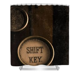 Shift Key Shower Curtain