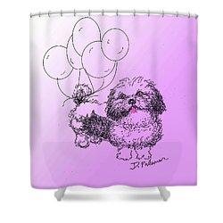 Shih Tzu Shower Curtain