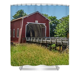 Shimanek Covered Bridge No. 2 Shower Curtain
