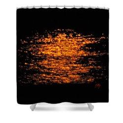 Shimmer Shower Curtain by Linda Hollis