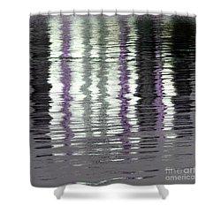 Shower Curtain featuring the photograph Shimmer by Wendy Wilton