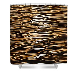 Shower Curtain featuring the photograph Shimmering Reflections by Az Jackson