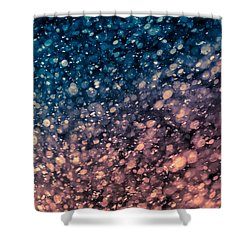 Shower Curtain featuring the photograph Shine by TC Morgan