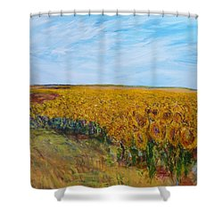 Sunny Faces Shower Curtain